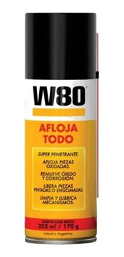 Imagen de Spray aerosol W80 284g 430 ml AFLOJATODO-Ynter Industrial