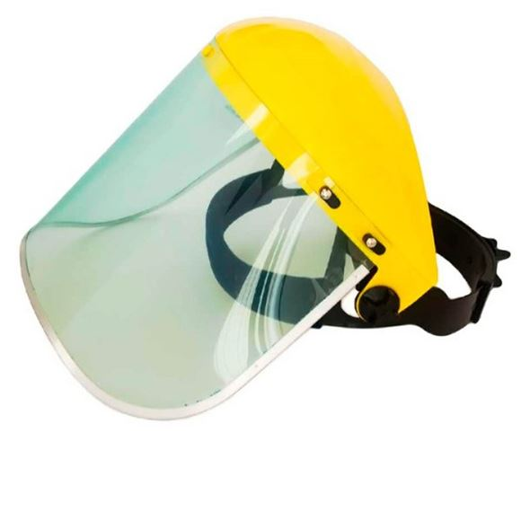 Imagen de Protector Facial Policarbonato Transparente C/arne - Ynter
