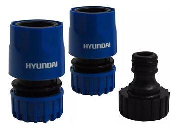 Imagen de Acople Hyundai rápido y conector 1/2 3/4¨3P- Ynter Industrial