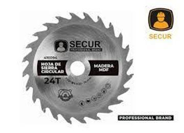 "Imagen de Hoja de sierra 7 1/4""x  24 dientes Secur para madera- Ynter Industrial"