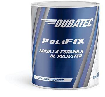 Imagen de Masilla plástica Polifix 1kg Duratec- Ynter Industrial