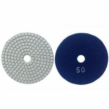 Imagen de Disco diamantado flexible 100mm GR50 azul Norton - Ynter Industrial