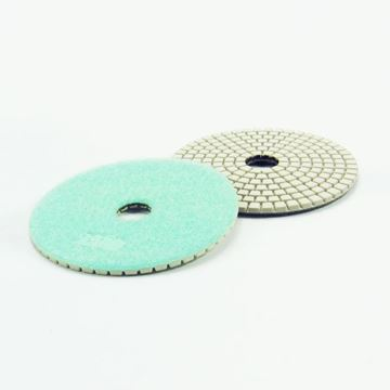 Imagen de Disco diamantado flexible 100mm GR1500 verde agua Norton - Ynter Industrial