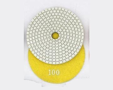 Imagen de Disco diamantado flexible 100mm GR100 amarillo Norton - Ynter Industrial