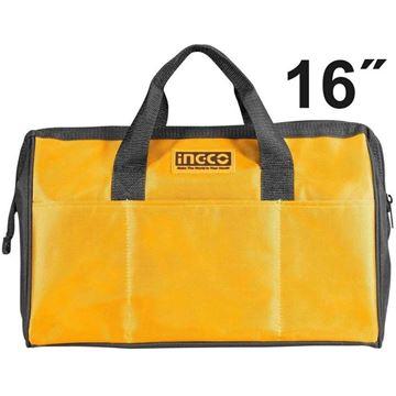 """Imagen de Bolso eco herramientas 16"""" Ingco - Ynter Industrial"""