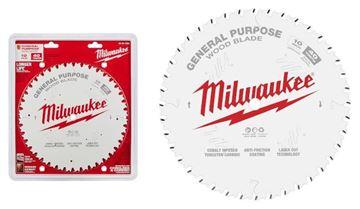 "Imagen de Hoja sierra circular p/madera 10"" 40d 48-40-1024 Milwaukee-Ynter Industrial"
