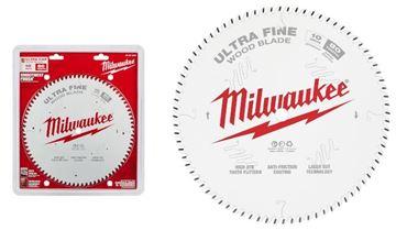 """Imagen de Hoja sierra circular p/madera 10"""" 80d ultra fina 48-40-1032 Milwaukee-Ynter Industrial"""