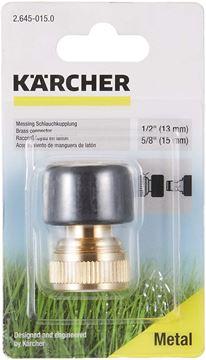 Imagen de Conector de alta calidad de latón p/ manguera de 1/2 y de 5/8 Karcher - Ynter Industrial