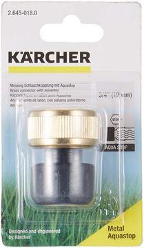 """Imagen de Conector adaptador con aquastop 3/4"""" Karcher - Ynter Industrial"""