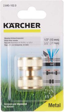 """Imagen de Conector reparador de manguera latón 1/2""""-5/8"""" Karcher - Ynter Industrial"""