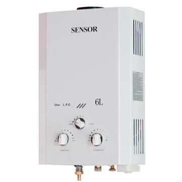 Imagen de Calefon a gas 6 litros Sensor tiro natural- Ynter Industrial