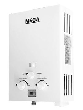 Imagen de Calefon a gas 6 lts tiro natural Mega- Ynter Industrial