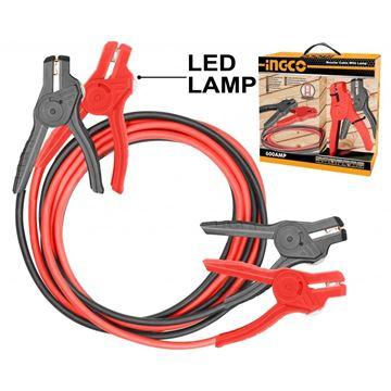 Imagen de Pinza cable arrancador con luz Ingco - Ynter Industrial
