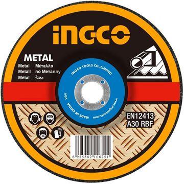 "Imagen de Disco abrasivo desbaste 7"" x 6mm Ingco-Ynter Industrial"