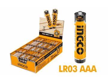 Imagen de Pack x4 pilas alkalinas AAA 1.5V Ingco- Ynter Industrial