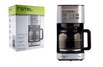 Imagen de Cafetera digital plus inox Rotel -Ynter Industrial