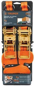 Imagen de Cinta catraca Truper 4mt x 2.54cm x 1.125kg- Ynter Industrial