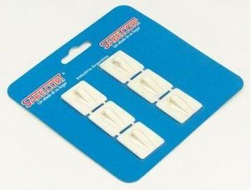 Imagen de Perchita auto adhesiva PCV mini rectangular Sabelcort  6uni. -Ynter Industrial