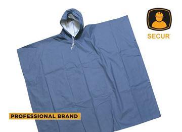 Imagen de Capa poncho de PVC azul 50 x 80 Secur - Ynter Industrial