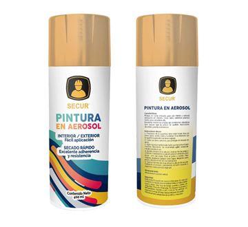 Imagen de Pintura en aerosol laca 400 ml Secur - Ynter Industrial