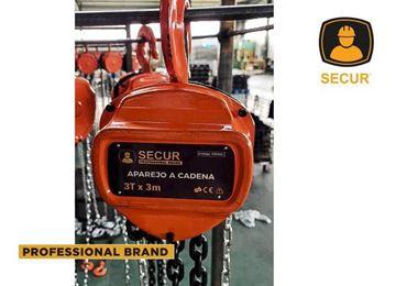 Imagen de Aparejo a cadena 1T 3M Secur  - Ynter Industrial