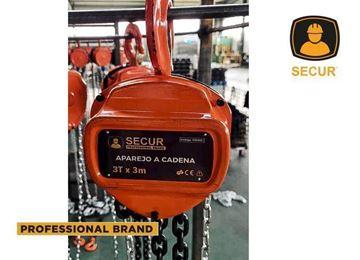 Imagen de Aparejo a cadena 5T 3M Secur  - Ynter Industrial