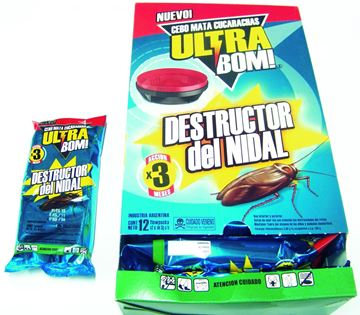 Imagen de Gel cucarachicida Ultra bom paq. x 2 uni.-Ynter Industrial