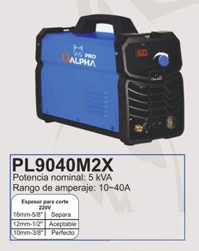 Imagen de Cortadora de plasma Alpha Pro Inverter 10 -40A -Ynter Industrial