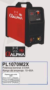 Imagen de Cortadora de plasma Alpha Pro Inverter 10 -80A -Ynter Industrial