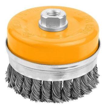Imagen de Cepillo de copa reforzado alambre torneado Hoteche - Ynter Industrial