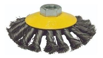 """Imagen de Cepillo plano de alambre torneado 4.1/2"""" Hoteche - Ynter Industrial"""