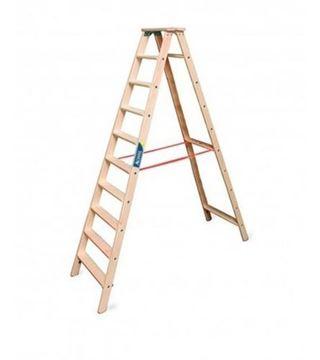 Imagen de Escalera familiar madera 10 escalones - Ynter Industrial