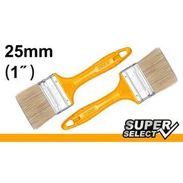 "Imagen de Pincel 1"" mango amarillo Super Select Ingco x 12 uni. - Ynter Industrial"