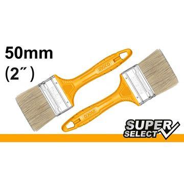 "Imagen de Pincel 2"" mango amarillo Super Select Ingco x 12 uni. - Ynter Industrial"