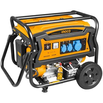Imagen de Generador 6.5 KW arranque manual y eléctrico Ingco - Ynter Industrial