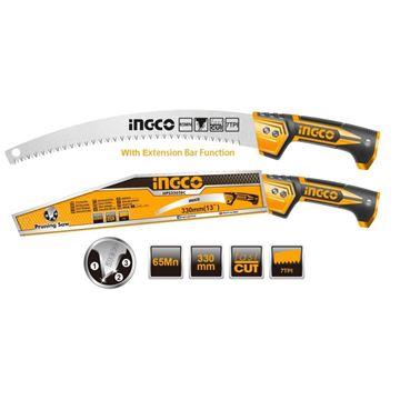 Imagen de Sierra de poda 330mm Ingco - Ynter Industrial