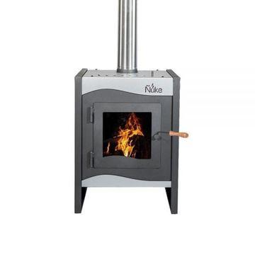 Imagen de Estufa calefactor Ñuke Wichi 50 plata - Ynter Industrial