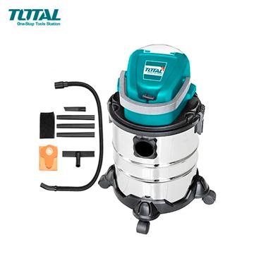 Imagen de Aspiradora 20V litio 20 litros baterias no incluidas Total - Ynter Industrial