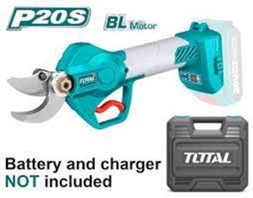 Imagen de Cizalla de poda 20V motor sin carbones s/baterías Total - Ynter Industrial