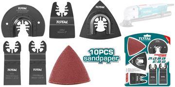 Imagen de Set de 15pcs para sierra multifunción Total - Ynter Industrial