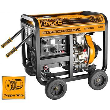 Imagen de Generador 4.6KW moto soldadora 180amps Ingco - Ynter Industrial