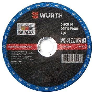 "Imagen de Disco corte Wurth 9 "" x 2.5mm - Ynter Industrial"