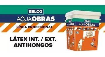 Imagen de Aqua Obras Belco látex interior/exterior antihongos 18L - Ynter Industrial