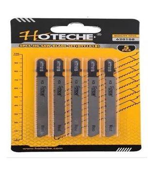 Imagen de Hojas sierra para calar madera 5 piezas Hoteche HTT101B - Ynter Industrial