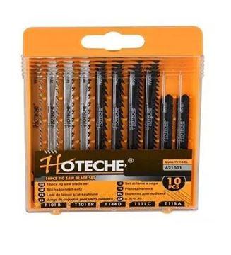 Imagen de Juego de hojas para sierra de JIG 10 pzas Hoteche - Ynter Industrial