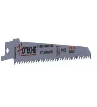 "Imagen de 5 hojas para sierra sable p/madera 9"" 230mm Hoteche - Ynter Industrial"