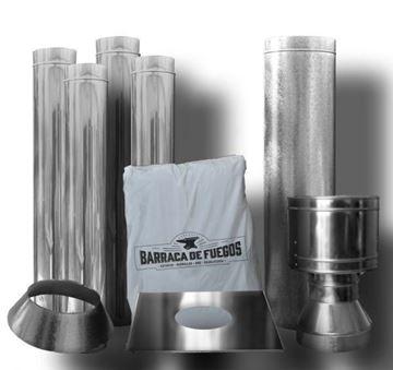 Imagen de Kit De Caños Ñuke P/ 1 Planta 150MM | Ynter Industrial