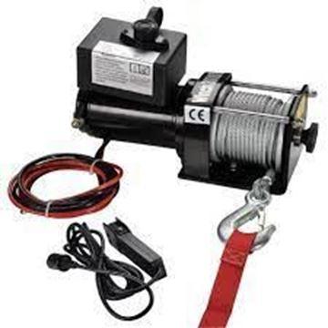 Imagen de Malacate electrico sacapeludo  12v 3000lb - Ynter Industrial