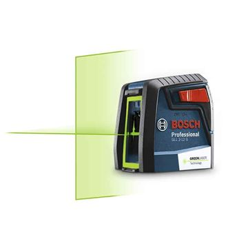Imagen de Medidor Laser de Lineas Bosch 12mt Verde -Ynter