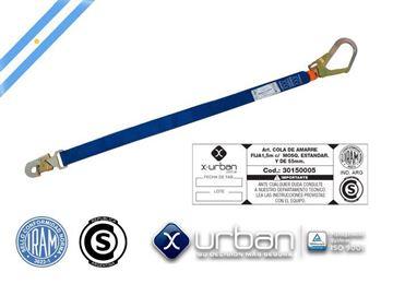 Imagen de Cola de amarre URBAN 2mts C/mosqueton 55MM APROB.IRAM Ynter